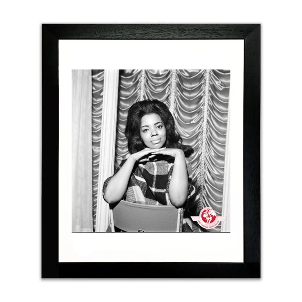 Mary Wells-Portrait-Framed